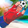 Soccer Goalkeeper - Beach Coast Goalie