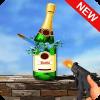 粉碎 瓶子 射手 游戏: 射击 游戏