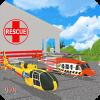 直升机救援:海上风暴