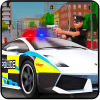 furious police car simulator