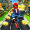 自行车赛车 - 爆炸自行车