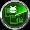 在房子模拟器的雷达猫