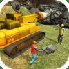 铁路过境火车隧道施工游戏