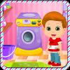 孩子洗衣服游戏