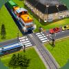 印度铁路穿越:铁路列车通过3D