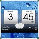 数字时钟和天气