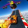 Rocket Car Racing Stunts