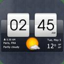 翻转时钟天气部件