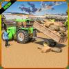 农村拖拉机农场司机: 运输者城市3D