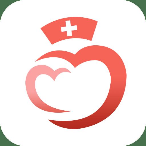 护士logo底纹素材