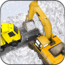 雪挖掘机救援辛