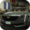 Car Parking Cadillac CT6 Simulator