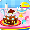 制作巧克力蛋糕