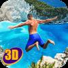 Swimming Pool Flip Diving 3D