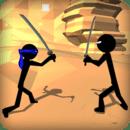 战士蹦极小人 - 忍者3D