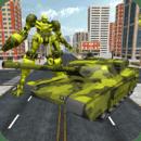 陆军坦克变形机器人