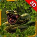 Angry Anaconda Attack Snake