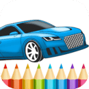 Best Cars Coloring Book Game
