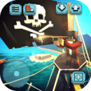 Pirate Ship Craft: 探险和建筑游戏