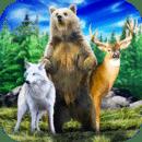 野生森林生存:动物模拟器