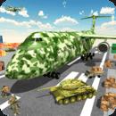 军队 货物 平面 工艺: 军队 运输 游戏