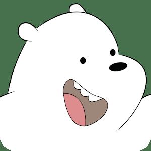 ice bear in super runner bare bear adventure time