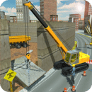 Security Wall Construction & Cargo Simulator 2018