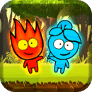 Red boy and Blue girl - Forest Temple Maze 2