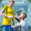 虚拟怀孕妈妈:幸福的家庭乐趣