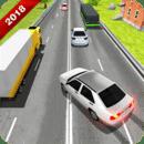 高速公路 重 交通 驾驶 赛跑 汽车 游览