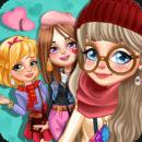 三个小公主的情人节换装游戏