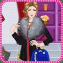 冬季化妆 - 女孩游戏