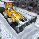 犁型铲雪卡车3D