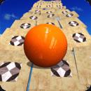 滚动天空球3D:平衡复活球