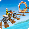 Motorcycle Stunt Trick: Motorcycle Stunt Games