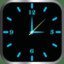 发光的时钟储物柜(蓝色)