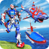 US Army Robot Shark Submarine Transform Robot Game