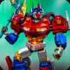 Transformer Robot Fighting 3D