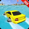 Water Car VS Bike Race