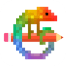 Pixel Art - 按编号上色的着色书