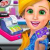 时装商店收银员女孩 - 儿童游戏