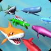 Underwater Sea Animals Kingdom Battle Simulator
