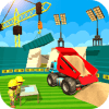 Football Stadium Builder Construction Crane Game