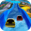 Water Slide Car Race and Stunts : Waterpark Race