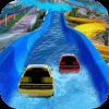 Water Slide Car Race and Stunts : Waterpark Race
