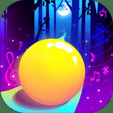 音乐球球跳跃
