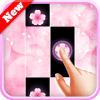 Piano Pink Flower New