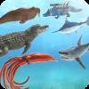 Sea Animal Kingdom Battle Simulator: Sea Monster