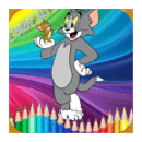 Coloring Fun : Tom and Jerry