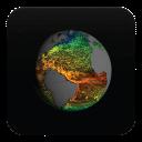 3D地球电流与温度